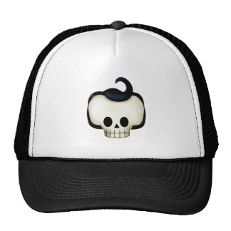 Rebel Skull Trucker Hat