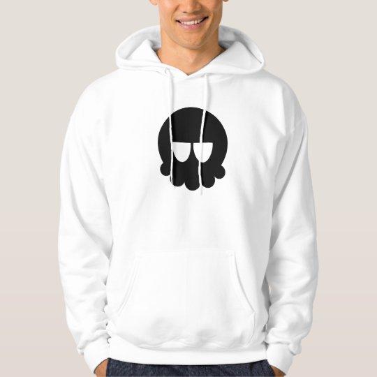 Rebel Skull Hoodie ( Black Detail )