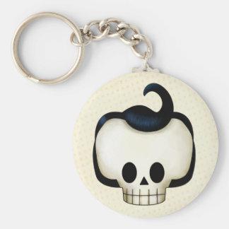Rebel Skull Keychain