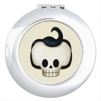 Rebel Skull Compact Mirrors