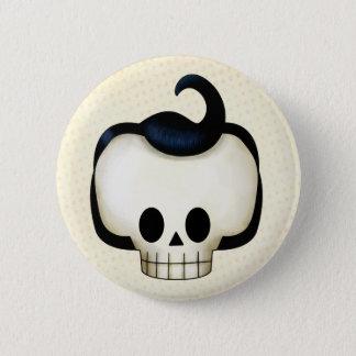 Rebel Skull Pinback Button