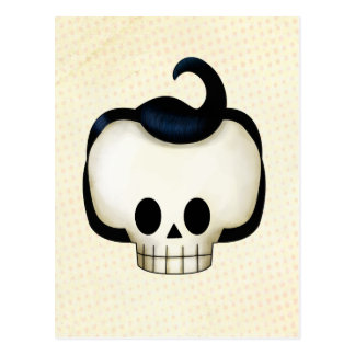 Rebel Skull Postcard