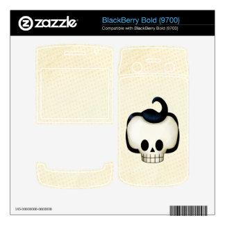 Rebel Skull Skin For BlackBerry Bold