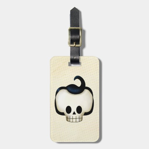 Rebel Skull Tag For Luggage