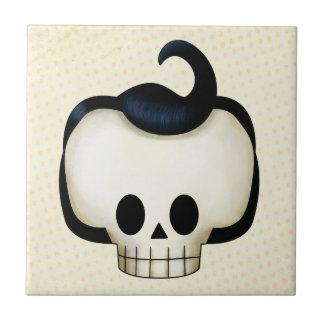 Rebel Skull Tile