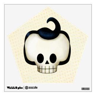 Rebel Skull Wall Decal