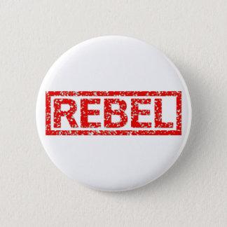 Rebel Stamp Pinback Button