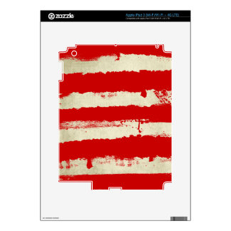 Rebel Stripes iPad Skin