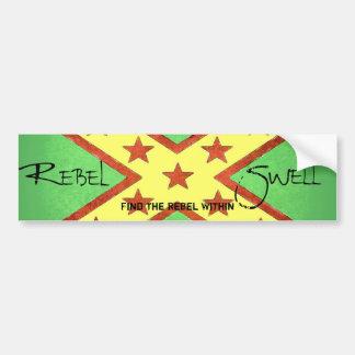 Rebel Swell - Bumber Sticker Car Bumper Sticker