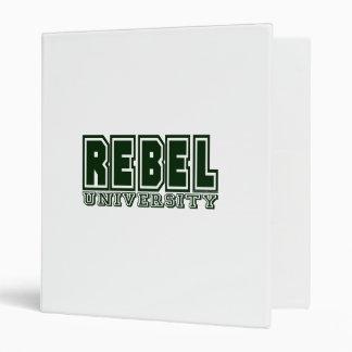 Rebel University Binder