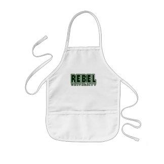 Rebel University Kids' Apron