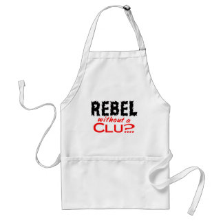 Rebel without a Clue Adult Apron