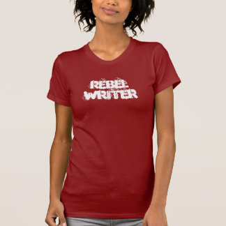 rebel writer women's petite t-shirt