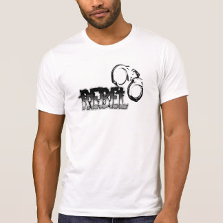 Rebelde abofeteado camisetas