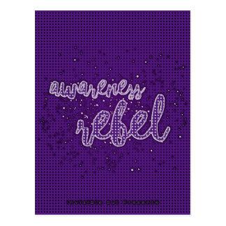 Rebelde de la conciencia tarjetas postales