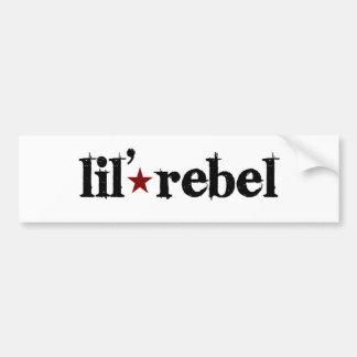 Rebelde de Lil Pegatina Para Auto