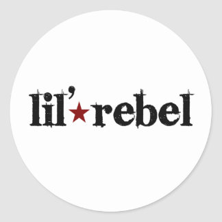 Rebelde de Lil Pegatina Redonda