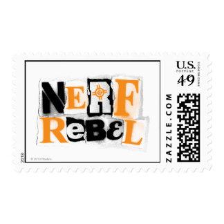 Rebelde de Nerf Estampillas