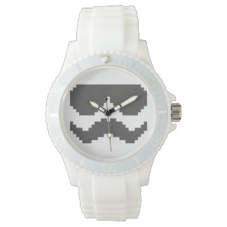 Rebelde de ocho bites relojes de pulsera
