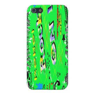 Rebelde del rollo del n de la roca iPhone 5 fundas