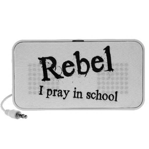 Rebelde: Ruego en escuela Portátil Altavoces