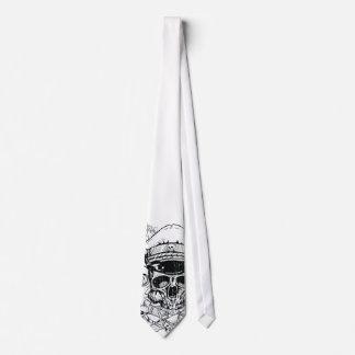 Rebelde sin una piel - diseño mental del lazo de P Corbata Personalizada
