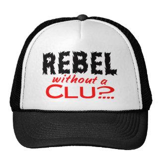 Rebelde sin una pista gorras