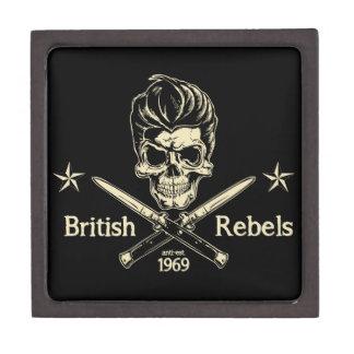 Rebeldes británicos cajas de regalo de calidad