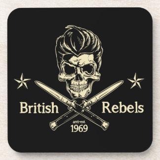 Rebeldes británicos posavasos