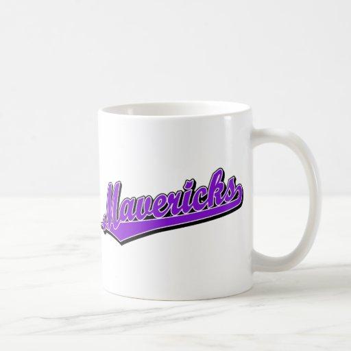 Rebeldes en púrpura taza