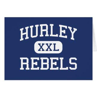 Rebeldes Hurley elemental Virginia de Hurley Tarjeton