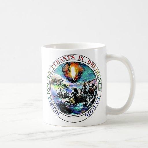 Rebelión a la taza del sello de Thomas Jefferson