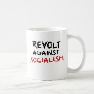 Rebelión contra drinkware del socialismo taza