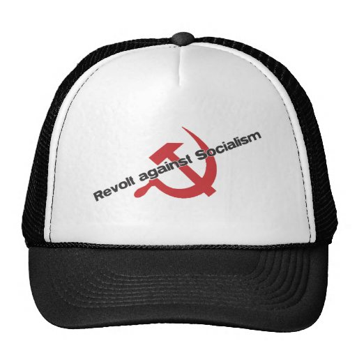 Rebelión contra socialismo gorro de camionero