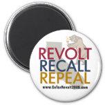 Rebelión de impuesto de CA 2009 - imán de la derog