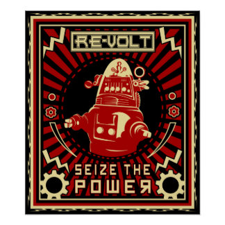 Rebelión del robot impresiones