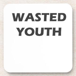 Rebelión perdida de la juventud posavasos de bebidas