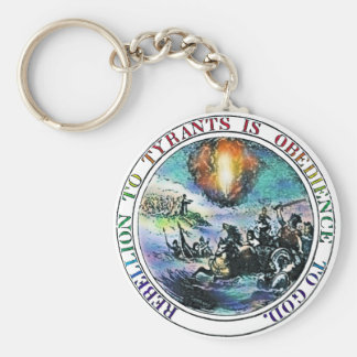 Rebellion Key Chain