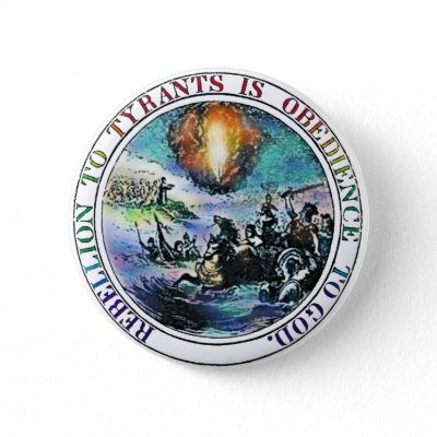 Rebellion Pinback buttons