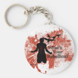 Rebellion Red Key Chains
