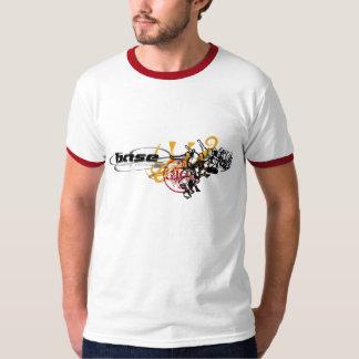 Rebellion Skateborders Illustration Ringer Tshirt