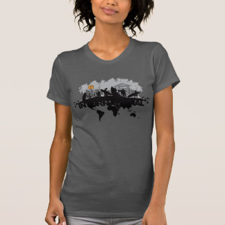 Rebellion Skateborders Illustration T-shirts