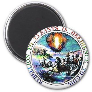 Rebellion to Tyrants is Obedience to God Refrigerator Magnets