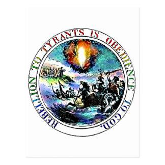 Rebellion To Tyrants Postcards (Glenn Beck)