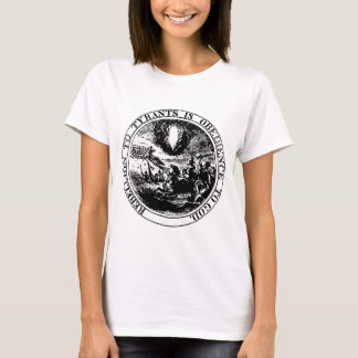 Rebellion to Tyrants Posterized black / white T-Shirt
