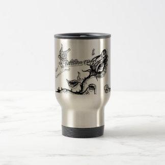 Rebellious Flower Hot Cup of Yum Travel Mug