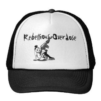 Rebellious Overdose machine gun girl hat