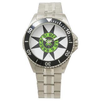Rebellious & Rascals spikes design watch van N.A.