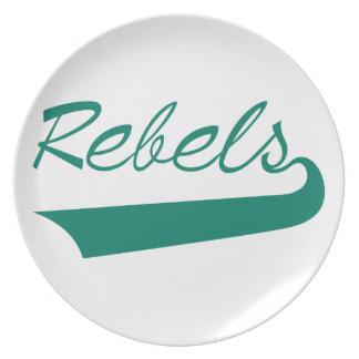 Rebels Dinner Plate