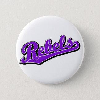 Rebels in Purple Button